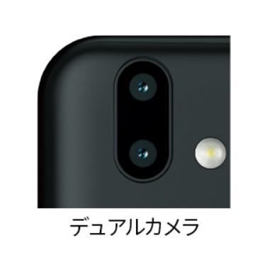 arrows M05のデュアルカメラ