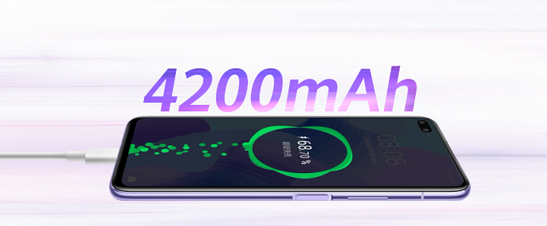 40W急速充電対応の大容量バッテリー