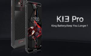 11,000mAhの大容量バッテリーを搭載した「OUKITEL K13 Pro」!急速充電にも対応