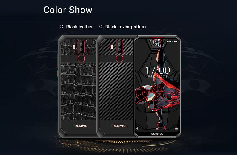 OUKITEL K13 Pro のデザイン