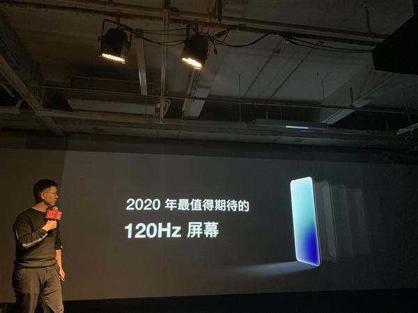 OnePlus 8の120Hz