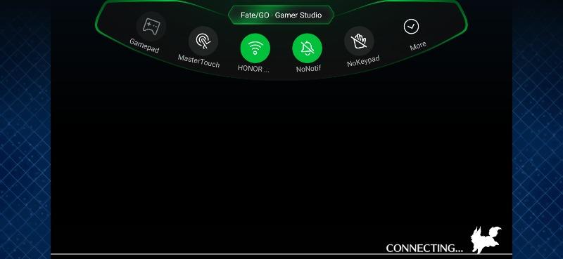Black Shark 2のゲームドック