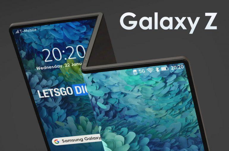 Galaxy Z レンダリング