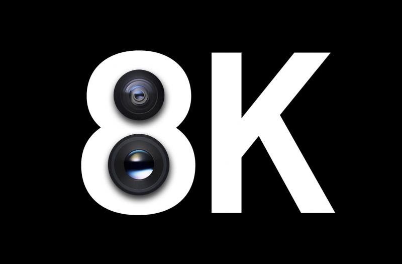 Galaxy-S20+は8Kビデオ撮影に対応