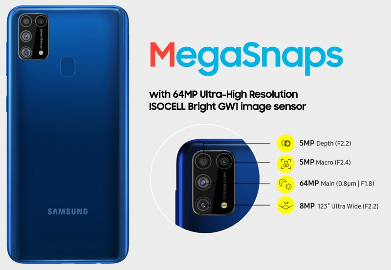 Galaxy M31 カメラ