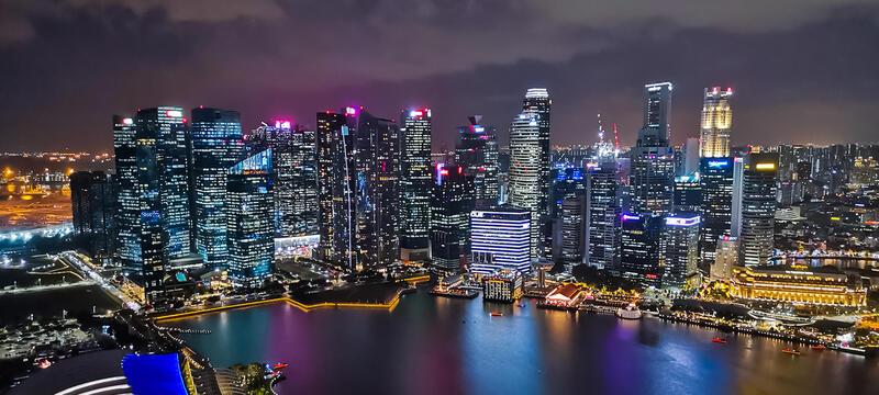 Huawei nova 7i 夜景