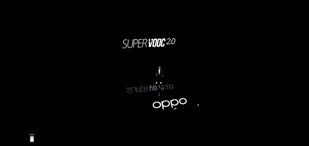 OPPO Find X2 ProのSUPER VOOC 2.0の紹介