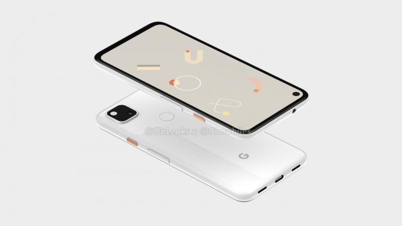 pixel 4aのデザイン