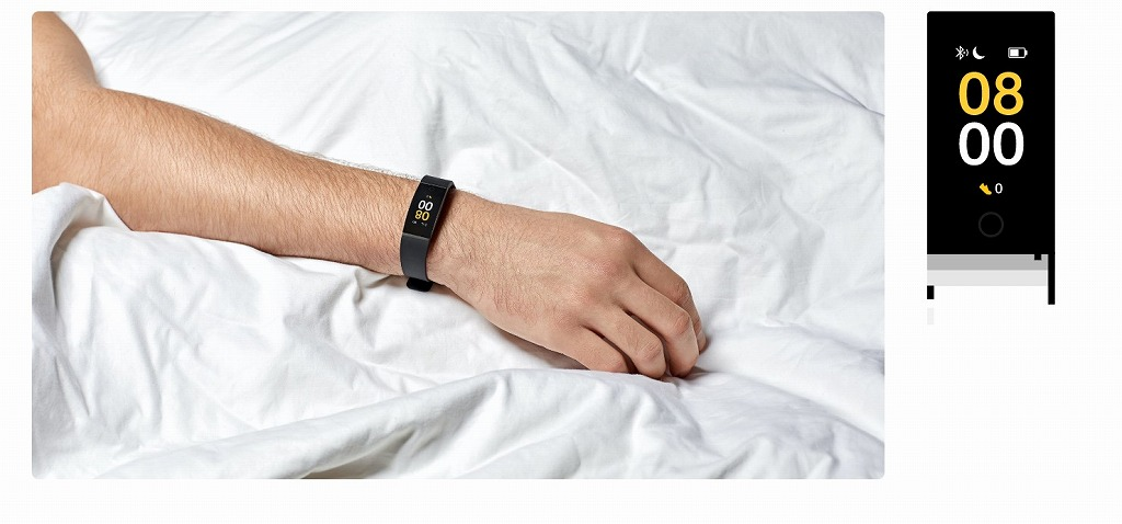 Realme Bandの睡眠の質測定機能の詳細