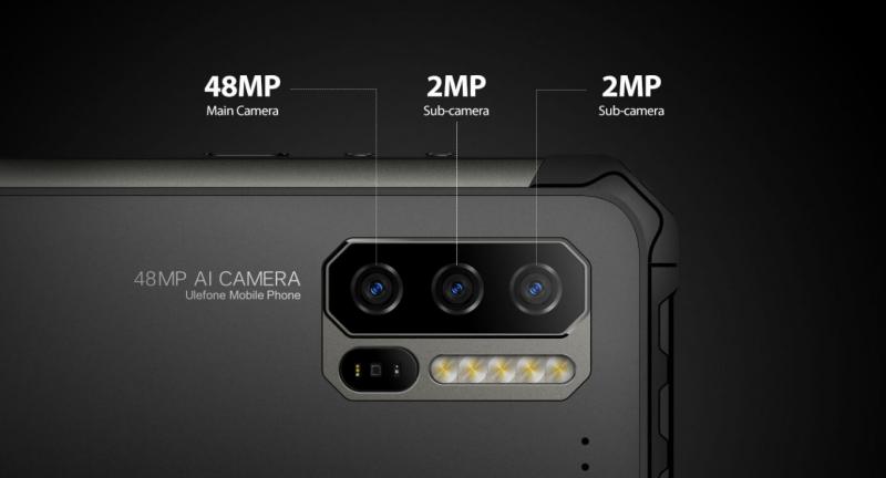 Ulefone Armor 7E のカメラ