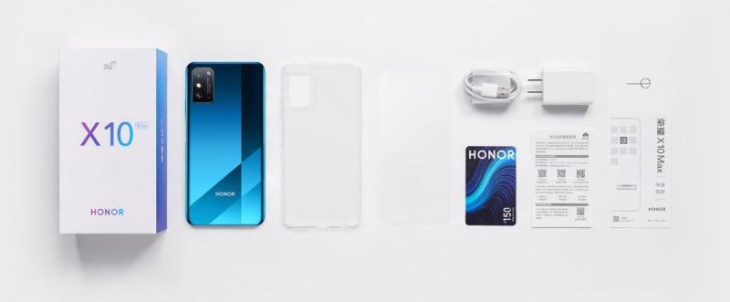 Honor X10 Maxの付属品