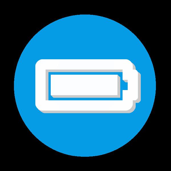 バッテリーのアイコン画像