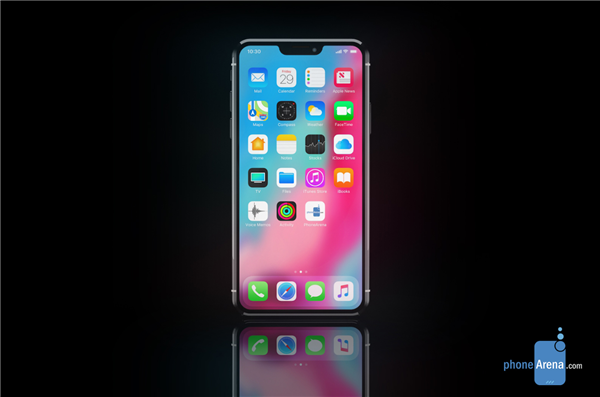 iPhone 12 Proのディスプレイレンダリング画像