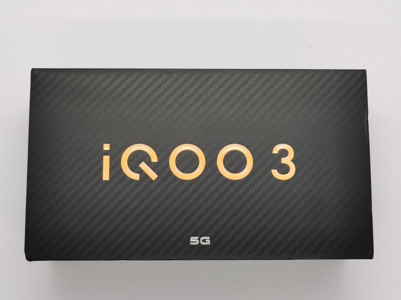 iQOO 3 5Gの外箱
