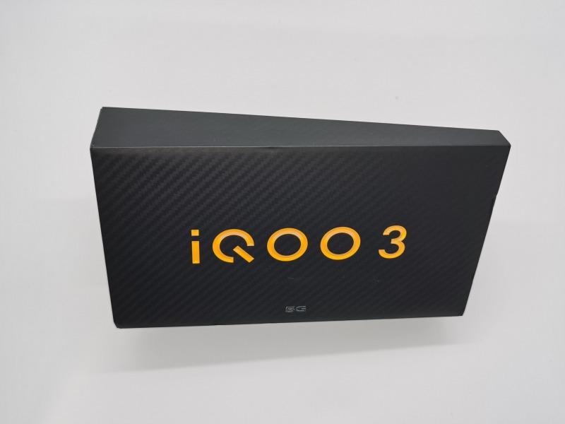 iQOO 3 5Gの上箱