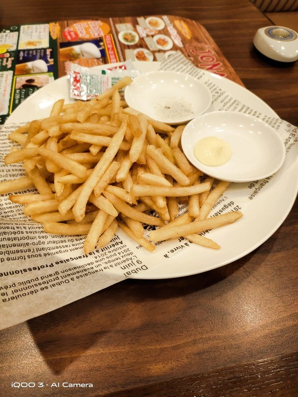 iQOO 3 5Gで食事を撮影した画像(1)