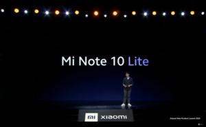 Mi Note 10 Lite発表