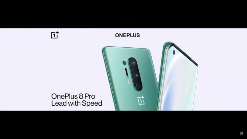 Oneplus 8 Proのデザイン
