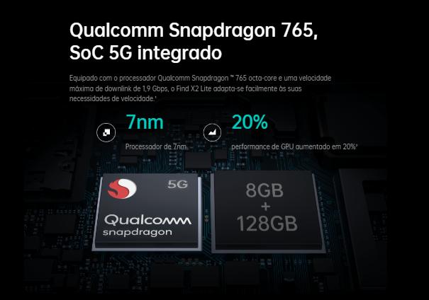 OPPO Find X2 Lite SoC RAM ROM