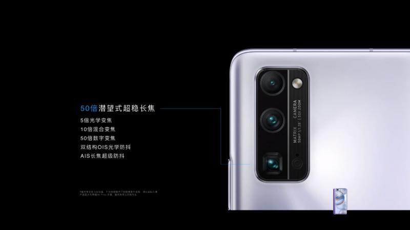 HONOR 30 Proのペリスコープカメラ