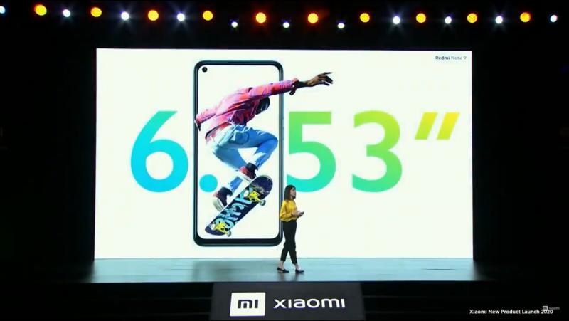 Redmi Note 9のデザイン