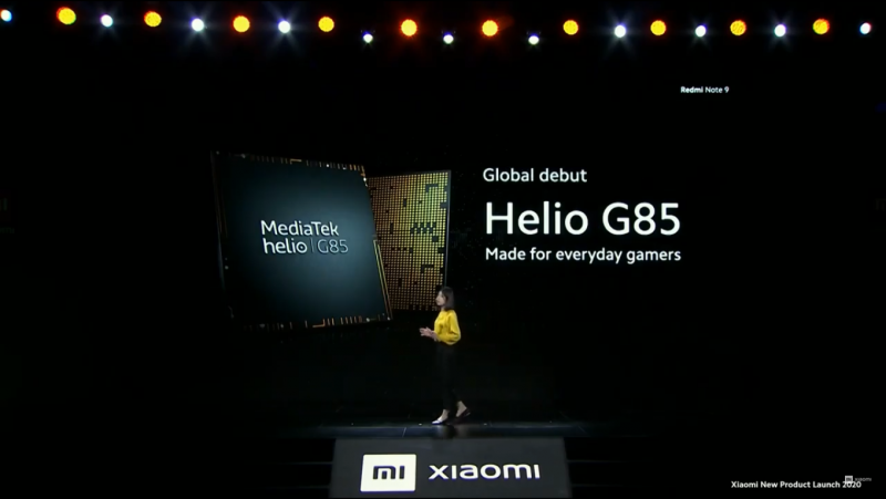 Redmi Note 9のSoC