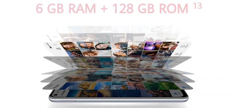 6GB+128GBのメモリーとストレージ