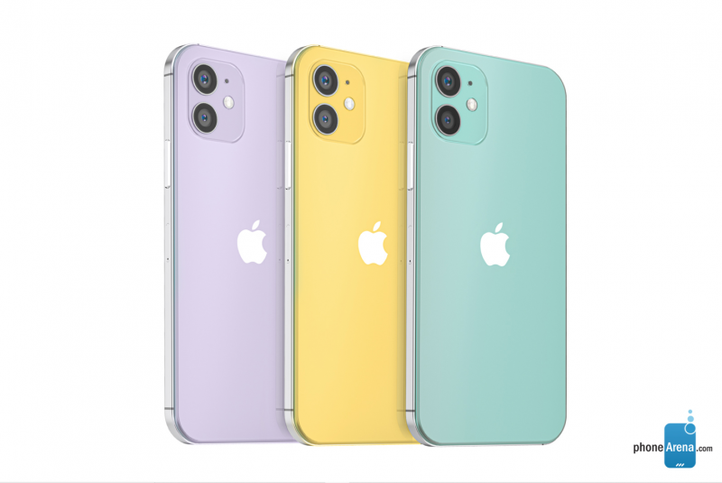 iPhone 12のレンダリング画像