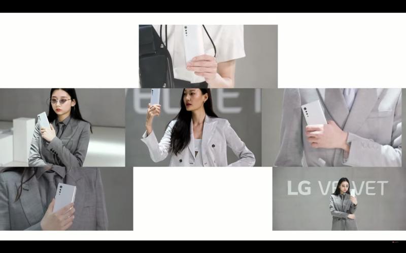 LG VELVETのイメージ画像