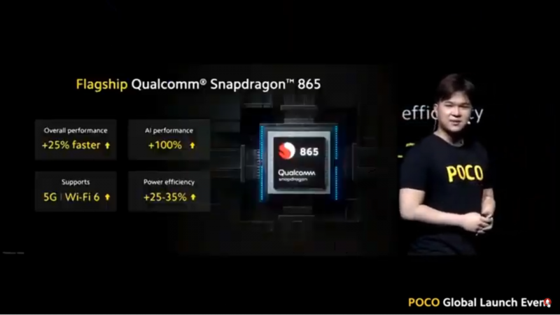 Snapdragon 865を搭載