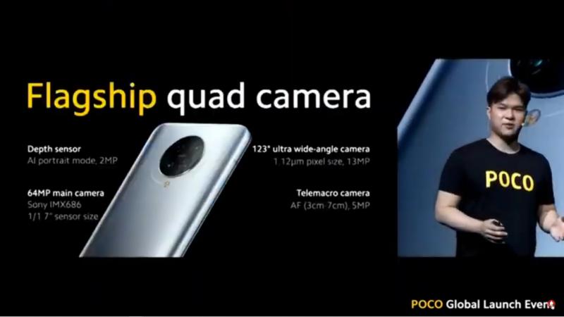 6400万画素を含むクアッドカメラを搭載