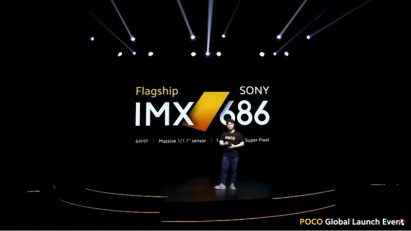 SONY IMX 686を採用