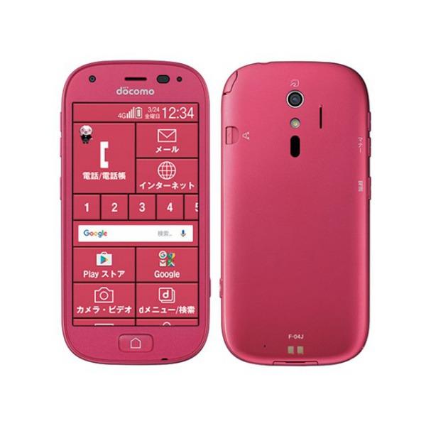らくらくスマートフォン4の画像