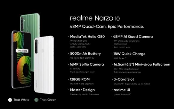 realme Narzo 10の画像