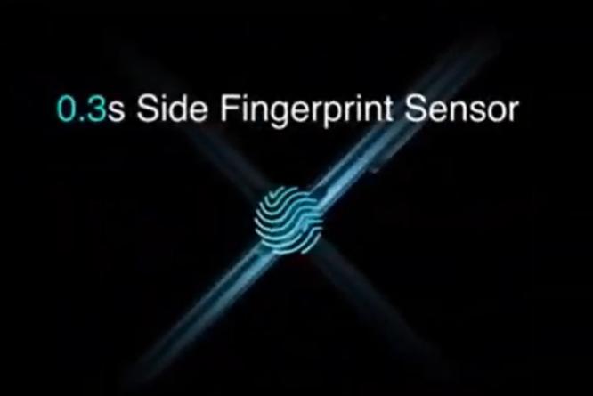 realme X3  SuperZoomの指紋認証