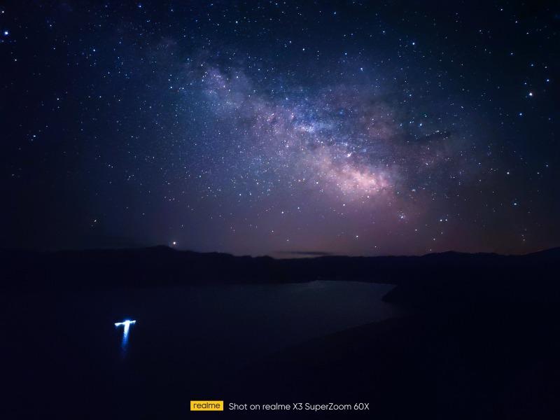 realme X3 SuperZoomによる星空のサンプル写真2
