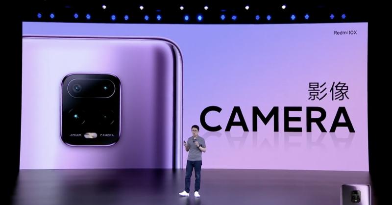 Redmi 10Xのカメラ