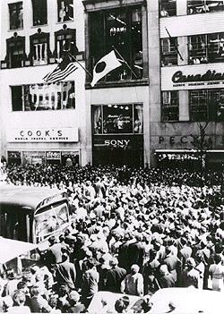 ニューヨークにオープンしたSONY店舗