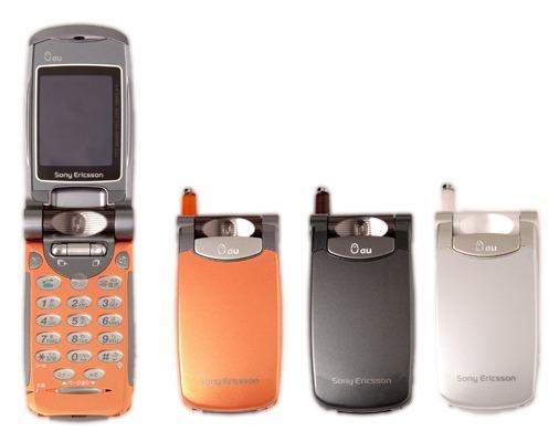 ソニー・エリクソン初の携帯電話