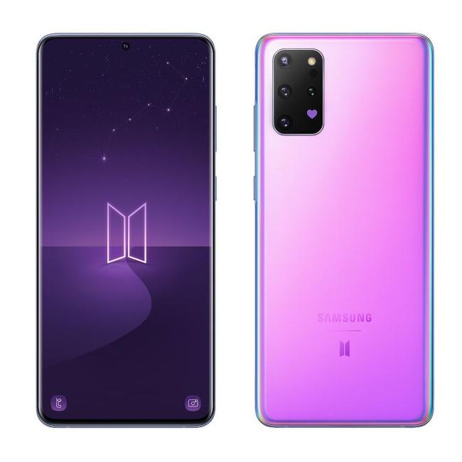 Samsung Galaxy S20+ BTSの画像