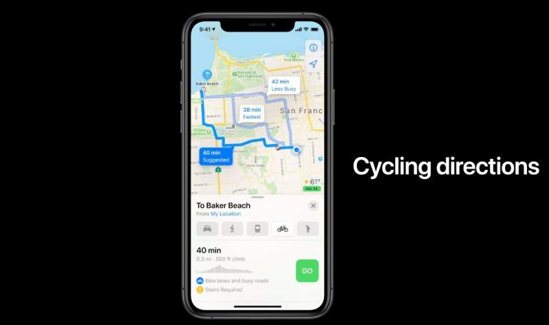iOS 14 Appleマップのアップデート