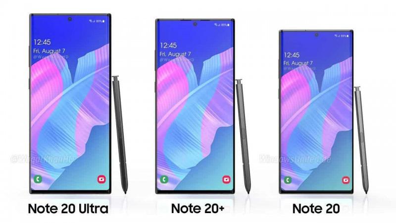 Galaxy Note 20シリーズのイメージ
