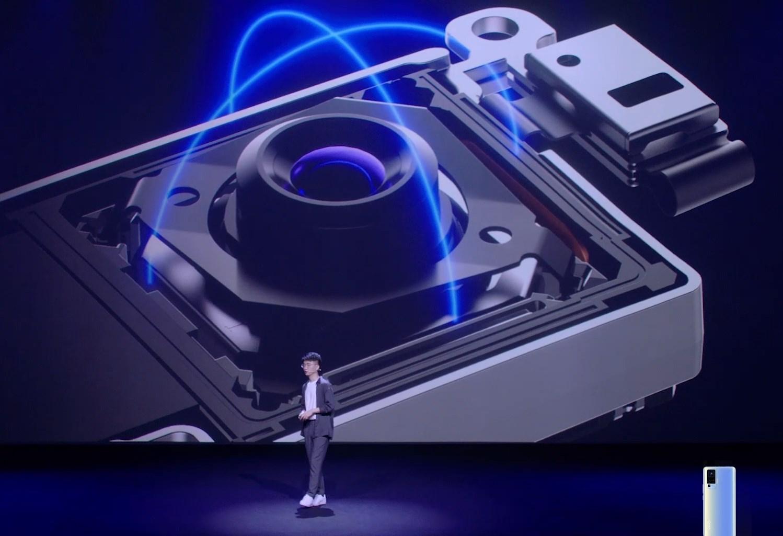 vivo X50のジンバルカメラ