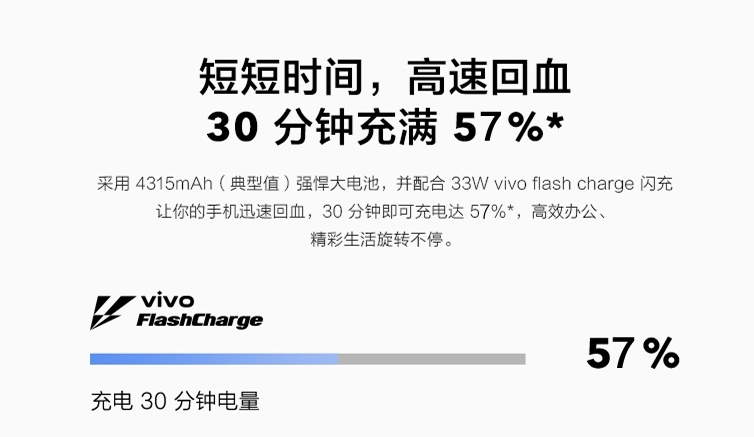 vivo X50 Pro充電説明
