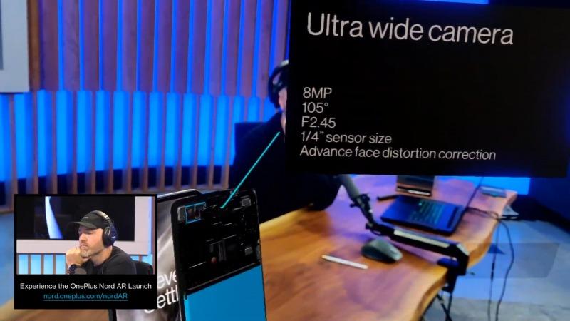 OnePlus Nordのフロントカメラ