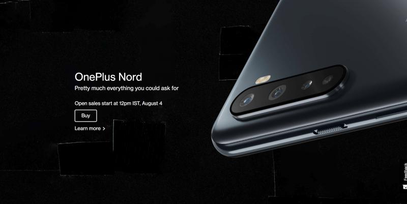 OnePlus Nordのデザイン