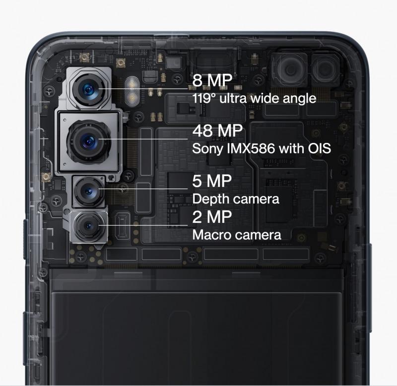 OnePlus Nordのカメラ