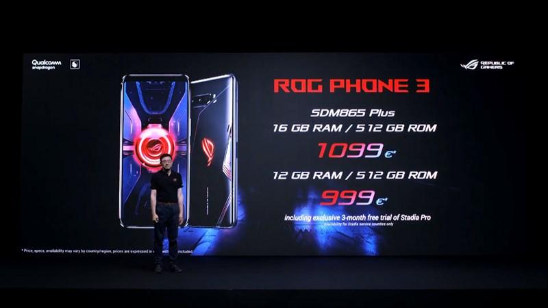 ROG Phone 3の価格1