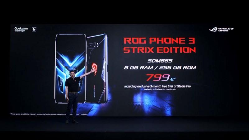 ROG Phone 3の価格2