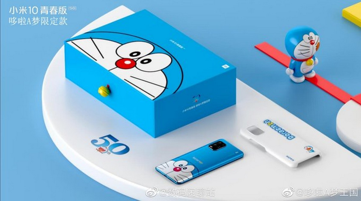 Mi 10 Youth Doraemon Limited Edition